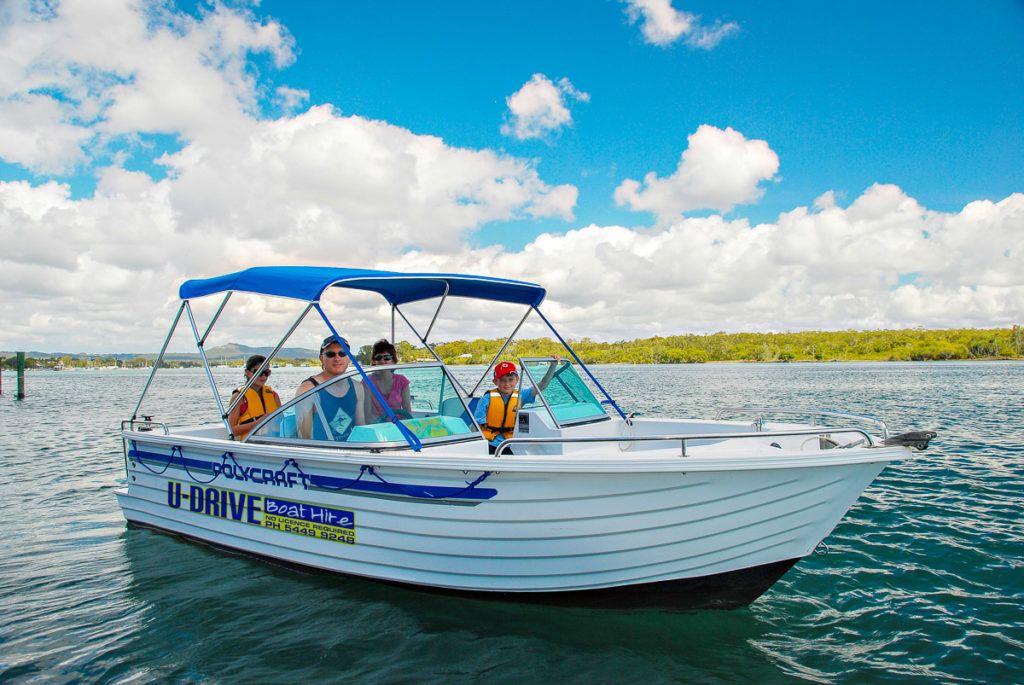 U Drive Boat Hire Noosa- 1200 - -1-2